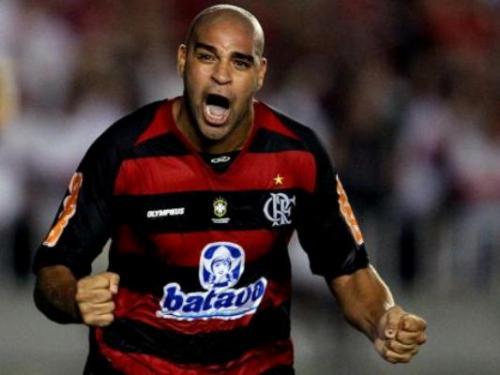 Adriano se oferece para jogar de graça pelo Fla em 2018: 'Por amor'
