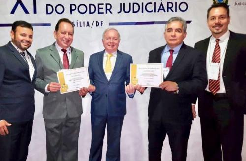 Tribunal de Justiça do Amazonas e TRE-AM recebem Selo Justiça em Números categoria Ouro