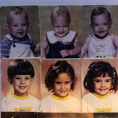 Nostálgico, William Bonner posta fotos inéditas dos filhos trigêmeos