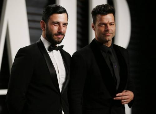 Ricky Martin se casa em segredo com o namorado artista plástico