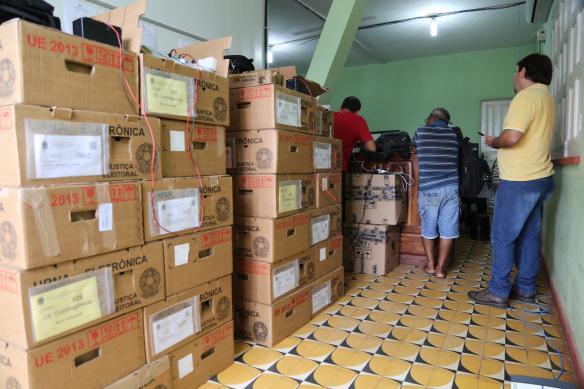 Tudo pronto para domingo em Novo Aripuanã