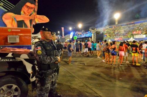 SSP registra redução de 56% no número de ocorrências no Carnaval de Manaus 2018