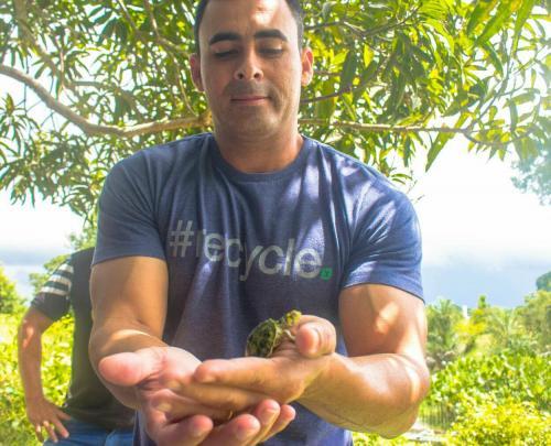 Rossy Amoedo destaca preservação ambiental no Macurany, em Parintins