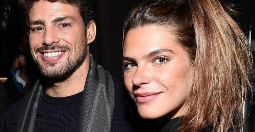 Cauã Reymond e Mariana Goldfarb são flagrados juntos no Rio
