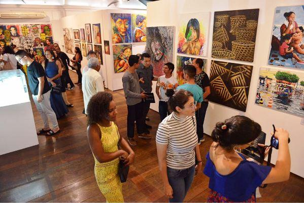 Mostra Literária e exposição 'Amazonas Plural' marcam a reabertura da Usina Chaminé