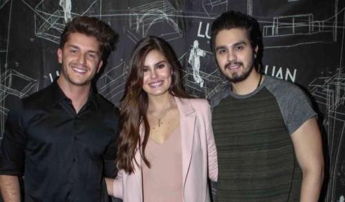 Luan Santana será padrinho em casamento de Camila Queiroz e Klebber Toledo