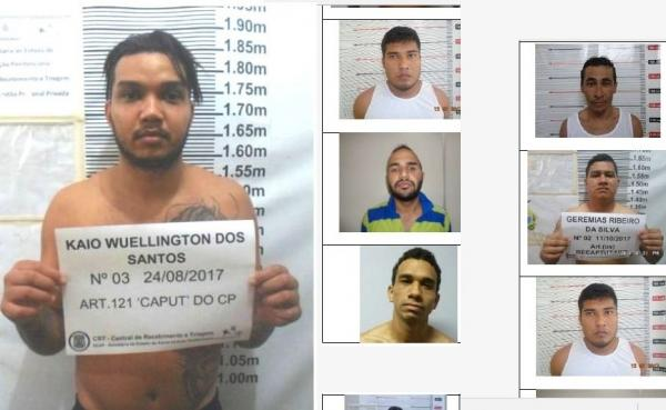 35 presos de alta periculosidade fogem por túnel do CDPM 2; veja fotos e lista