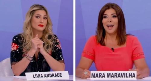 'Não é segredo para ninguém', diz Lívia Andrade sobre rixa com Mara Maravilha