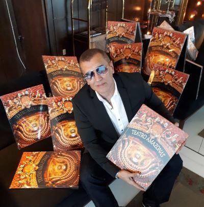 Fotógrafo amazonense Célio Said lança livro 'Teatro Amazonas' neste sábado (26)