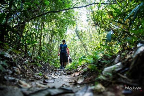 'Caminhos da Floresta' leva 120 trilheiros para o maior santuário de preservação animal de Santarém