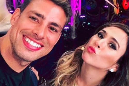 Tatá Werneck brinca sobre beijo em Cauã Reymond e ator responde