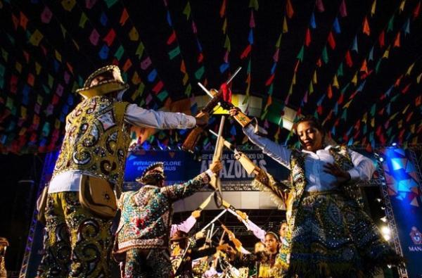 Mais de três mil pessoas participam do Festival Folclórico do Amazonas