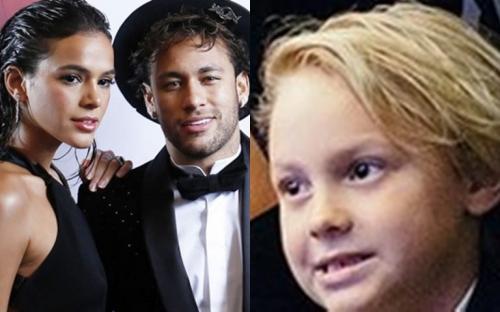 """Filho de Neymar pede um irmão e Bruna Marquezine rebate: """"Pede a sua mãe"""""""