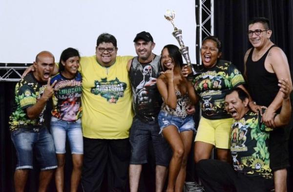 Grupos Campeões do 62° Festival Folclórico do Amazonas recebem premiação