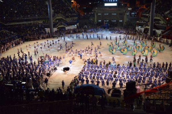 Alunos do Liceu de Artes de Parintins participam do 53º Festival Folclórico