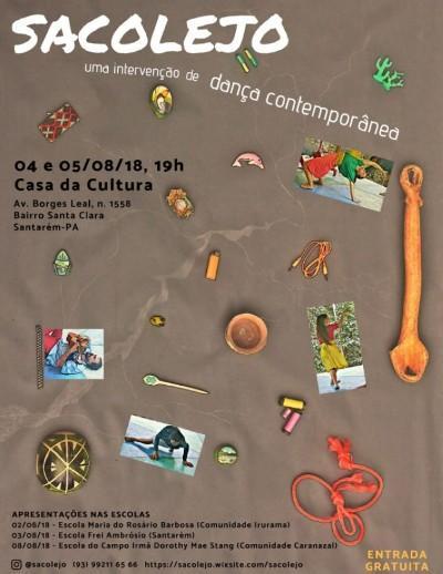 Projeto Sacolejo é realizado no final de semana, em Santarém
