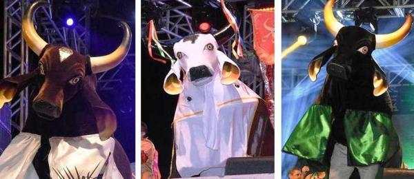 Bumbás Brilhante, Garanhão e Corre Campo se apresentam no Festival Folclórico do Amazonas