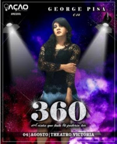 Grupo Faces estreia peça '360' no Theatro Municipal Victória, em Santarém