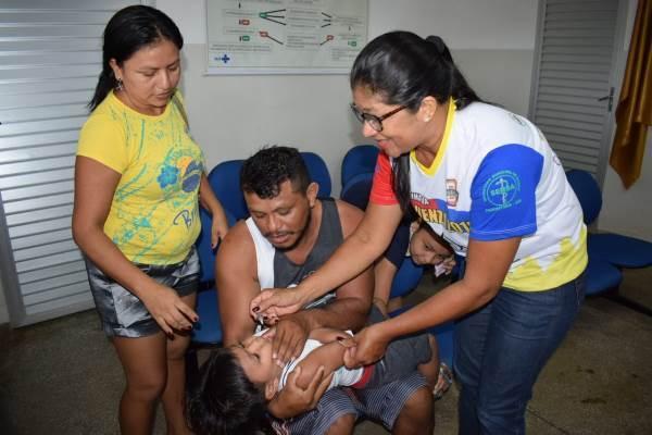 Parintins realiza 'dia D' de vacinação contra sarampo e pólio neste sábado (1º)
