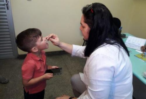 Manaus já vacinou 93% das crianças da cidade contra a pólio