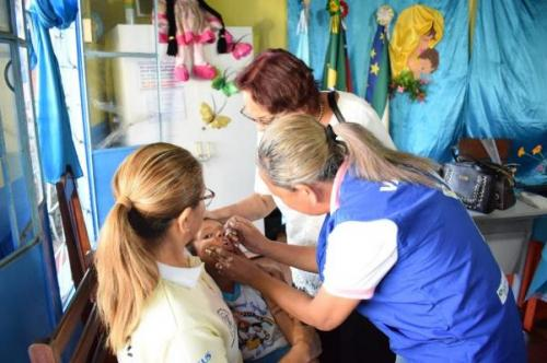 Parintins ultrapassa 90% de alcance na campanha de vacinação contra sarampo e pólio