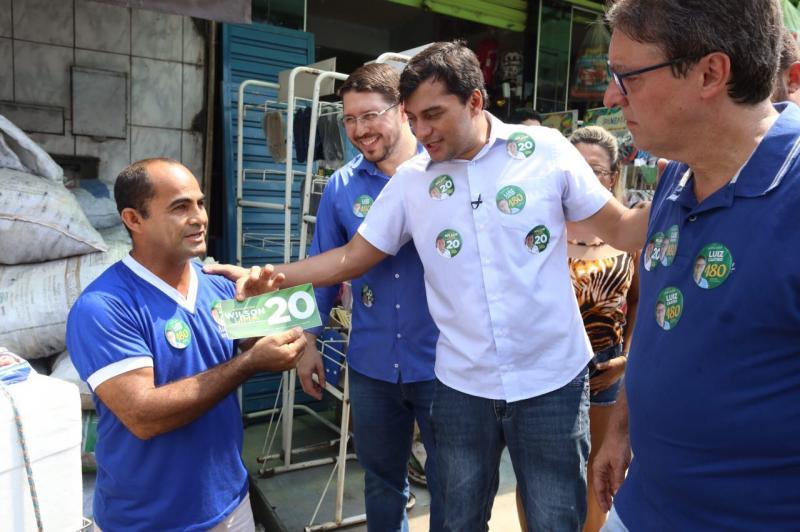 Wilson Lima apresenta propostas para o setor primário em visita a Rio Preto da Eva