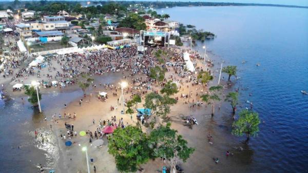 Festival de Verão em Maués atrai público de mais de 15 mil pessoas