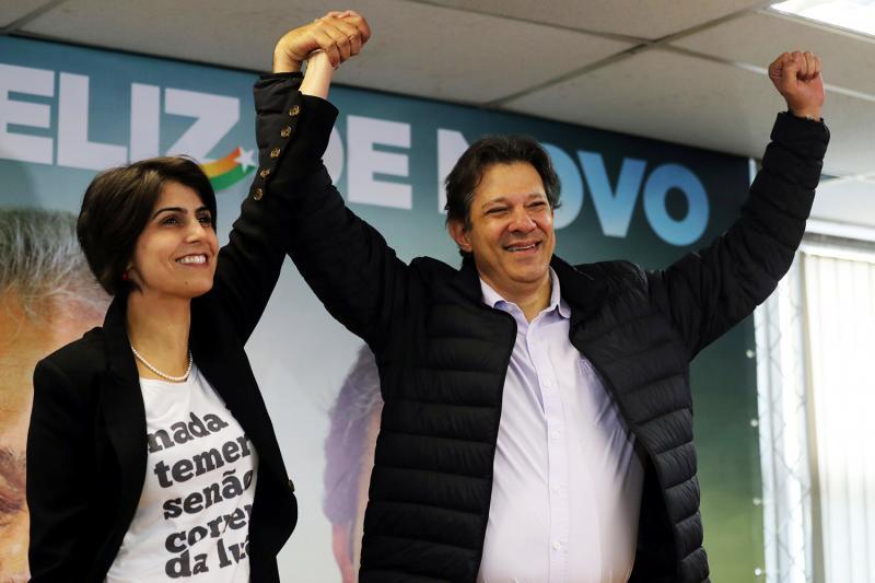 PT indica Haddad no lugar de Lula na disputa presidencial
