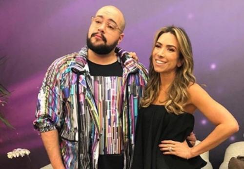 Patricia Abravanel visita os estúdios  Globo: 'Amei conhecer'
