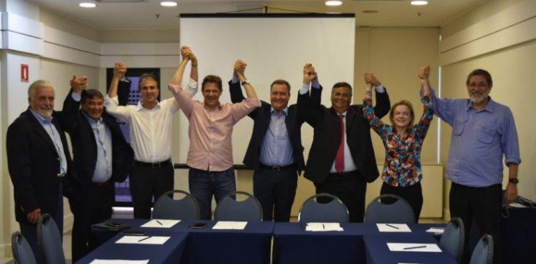 Governadores do Nordeste declaram apoio a Haddad