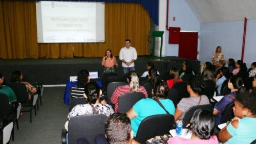 Escolas municipais terão reforço de 200 estagiários do PGA, em Manaus
