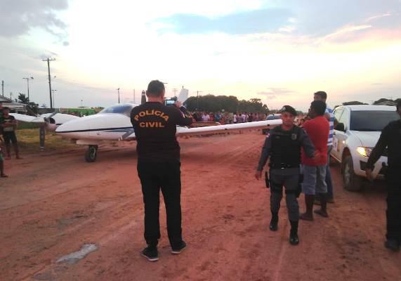 MP-AM pede interdição da pista de decolagem de aviões em Pauini