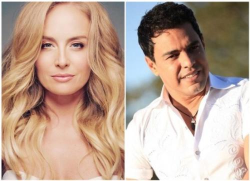 Angélica desmente suposto romance com Zezé di Camargo