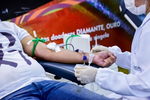 Coleta de sangue do Hemoam funcionará normalmente durante ponto facultativo