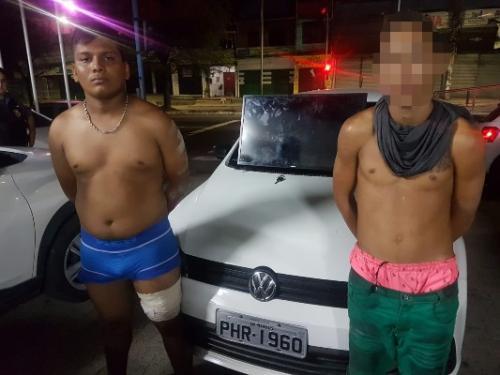 Seis homens são presos por roubo e tráfico de drogas em Manaus