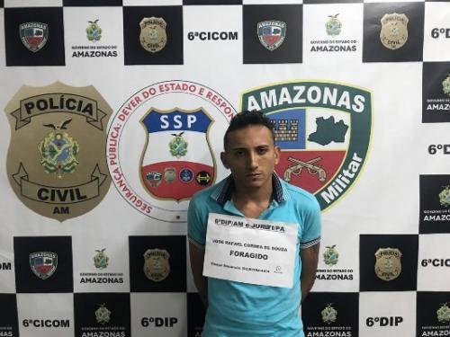 Foragido da Justiça do Pará por tráfico de drogas é preso em Manaus