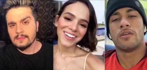 Neymar deixa de seguir Luan Santana após cantor afirmar que já ficou com Marquezine
