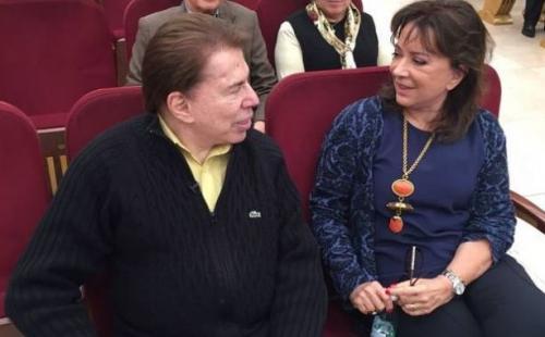 """Silvio Santos leva bronca da esposa por causa de Helen Ganzarolli: """"Coisa de galinha"""""""