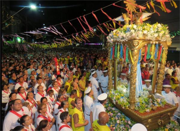 Festa comemora Nossa Senhora da Conceição hoje (8) em Manaus