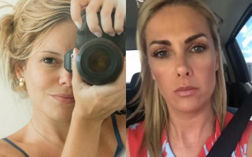 Ana Hickmann está sendo perseguida por mulher que postou fotos assustadoras da apresentadora