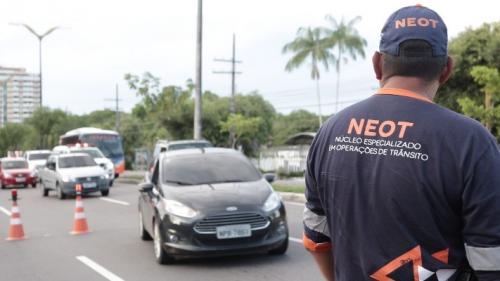 Cai o número de vítimas fatais em acidentes de trânsito no Natal em Manaus