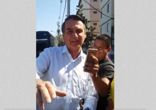 Bolsonaro diz que é torcedor do boi Caprichoso