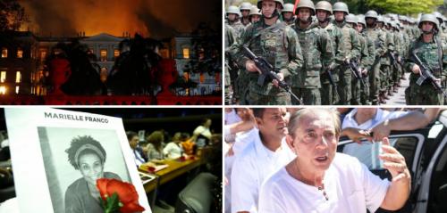 Retrospectiva: relembre fatos que marcaram o Brasil em 2018