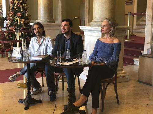 SEC e Iphan irão restaurar Pano de Boca do Teatro Amazonas