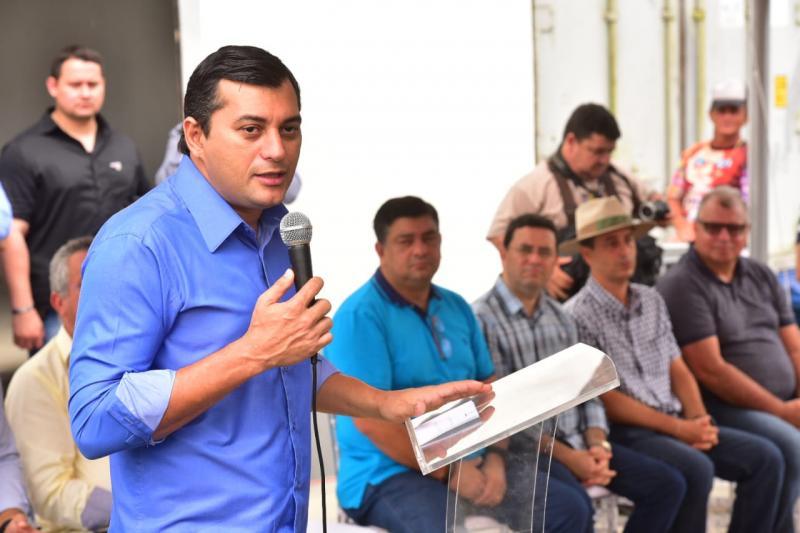 Wilson Lima reafirma compromisso com setor primário, durante inauguração de abatedouro