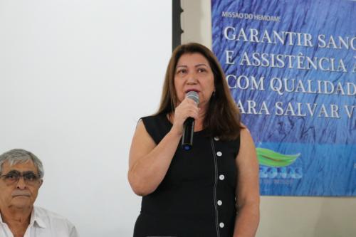 Fundação Hemoam tem nova diretora-presidente