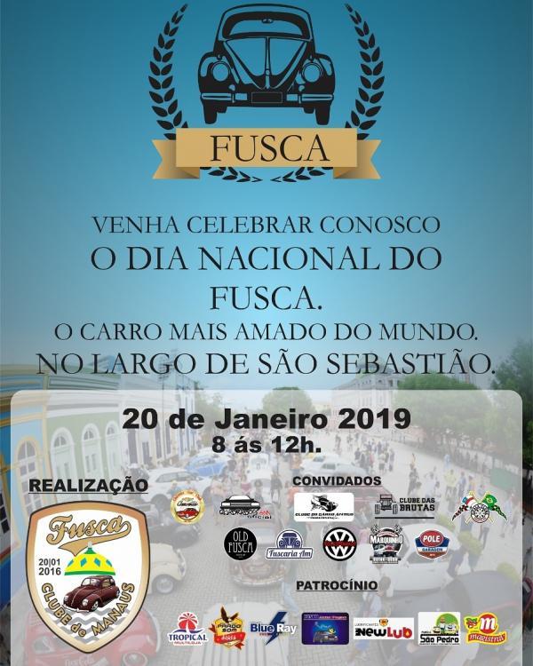 Dia Nacional do Fusca terá exposição de carros, em Manaus