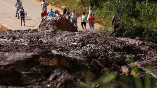 Brumadinho: número de mortos sobe para 34; 299 estão desaparecidos