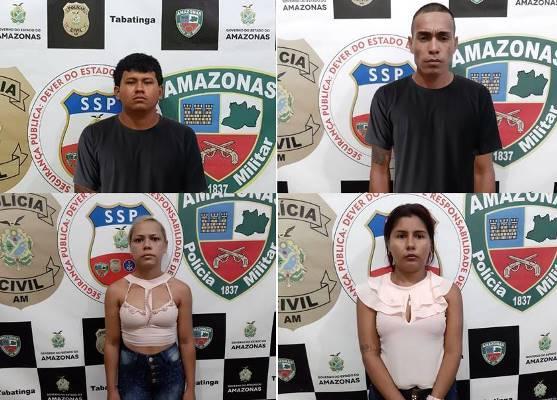 Casais acusados de matar policial colombiano são presos em Benjamin Constant