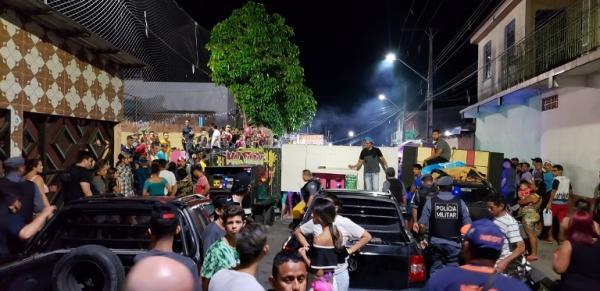 Bloco de carnaval de Manaus é encerrado por não possuir autorização